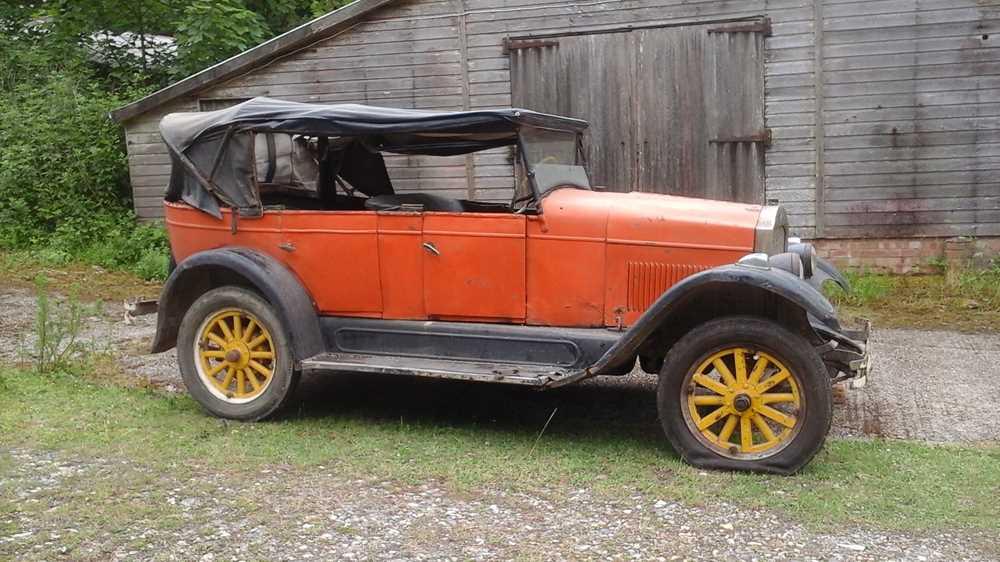 Lot -1927 Rugby Model A Tourer
