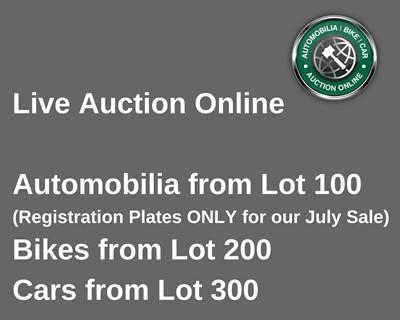 Lot 300 - Our Car Sale