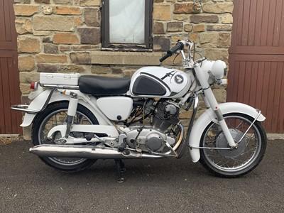 Lot 215 - 1963 Honda CYP77 Super Hawk