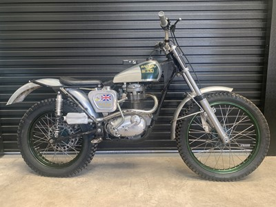 Lot 217 - c.1960 BSA B40 Trials
