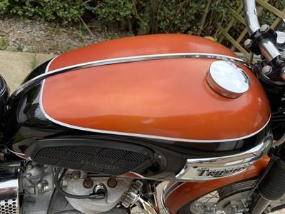 Lot 219 - 1971 Triumph T100R Daytona