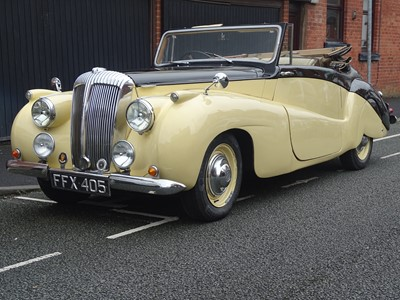 Lot -1951 Daimler DB18 Special sports drophead coupe