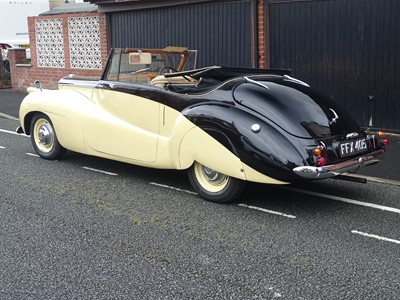 Lot 350 - 1951 Daimler DB18 Special Sports Drophead Coupe