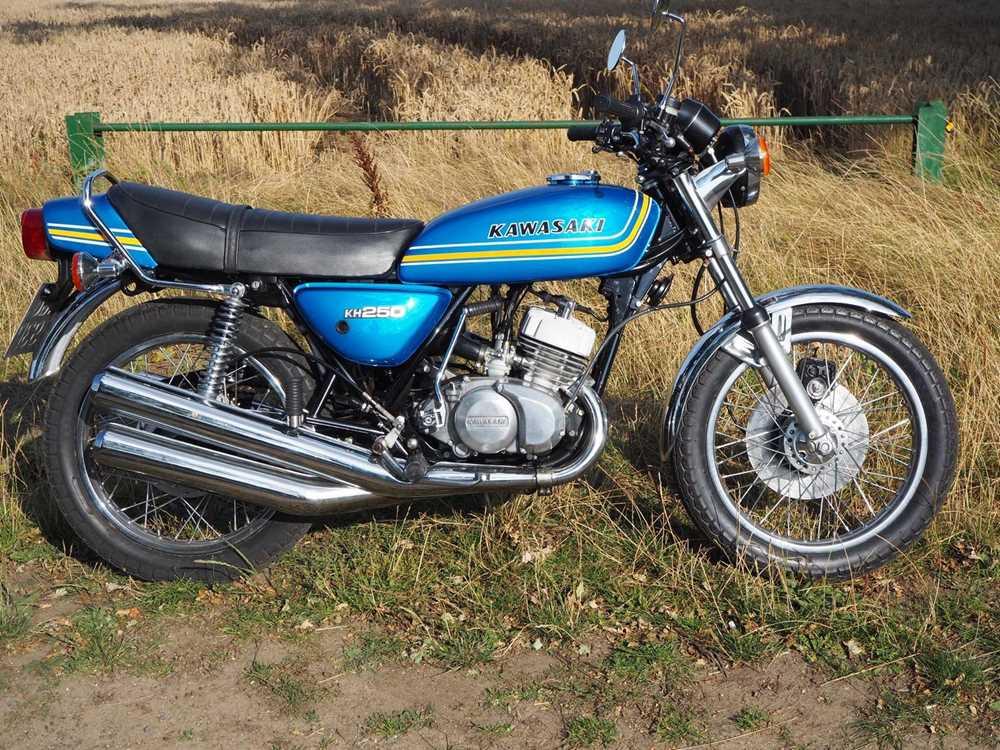 Lot 241 - 1976 Kawasaki KH250
