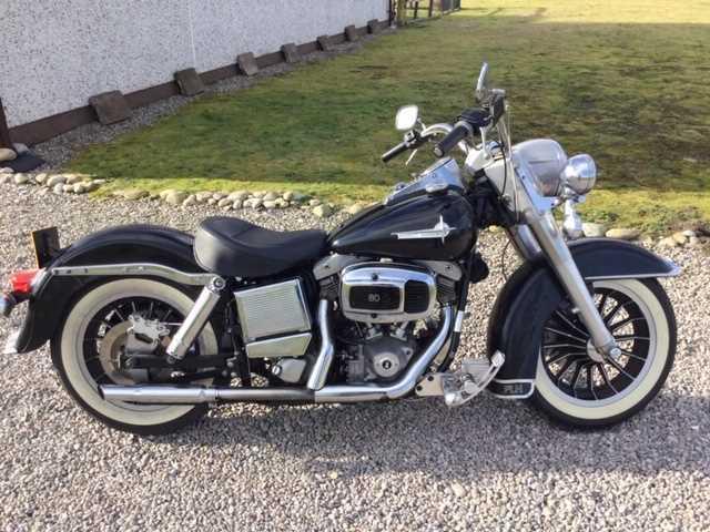 Lot 242 - 1979 Harley Davidson FLH-80