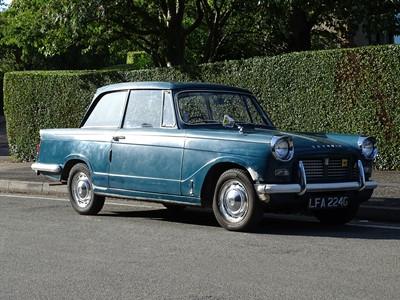 Lot 301 - 1968 Triumph Herald 1200 Saloon