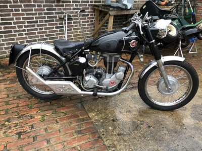 Lot 240-1957 Matchless G3LS