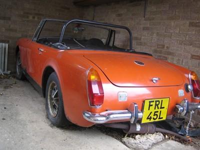 Lot 363 - 1972 MG Midget 1275