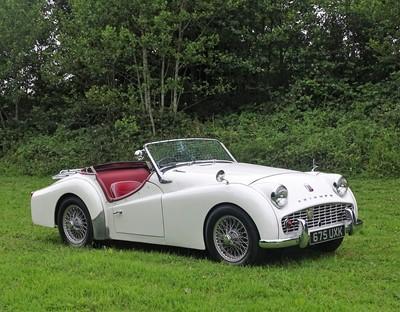 Lot 310 - 1959 Triumph TR3