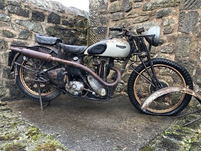 Lot 205 - c.1937/8 Triumph T80 Tiger