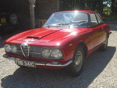 Lot 351 - 1965 Alfa Romeo 2600 Sprint