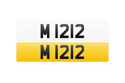 Lot 115 - Registration Number - M 1212