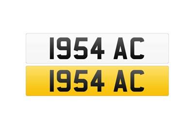 Lot 107 - Registration Number - 1954 AC