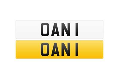 Lot 119 - Registration Number - OAN 1