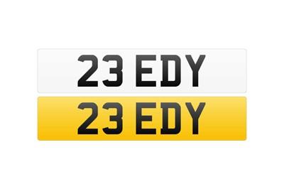Lot 114 - Registration Number - 23 EDY