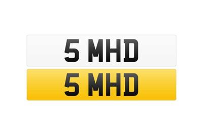 Lot 113 - Registration Number - 5 MHD