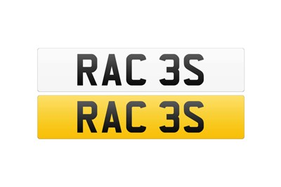 Lot 111 - Registration Number - RAC 3S