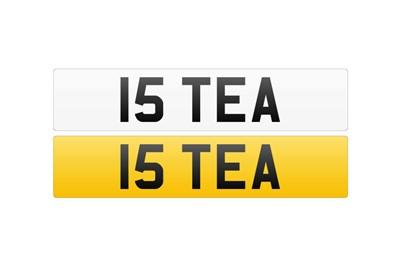 Lot 117 - Registration Number - 15 TEA