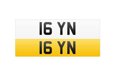 Lot 116 - Registration Number - 16 YN