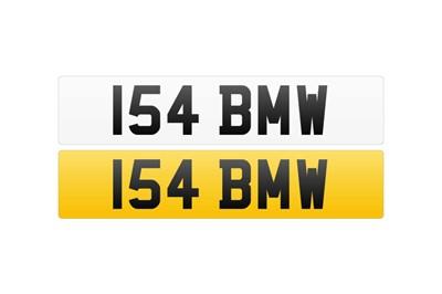 Lot 102 - Registration Number - 154 BMW