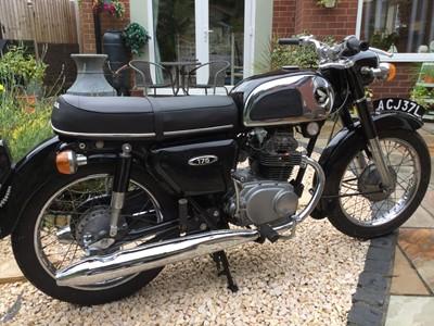 Lot 249 - 1972 Honda CD175 K3