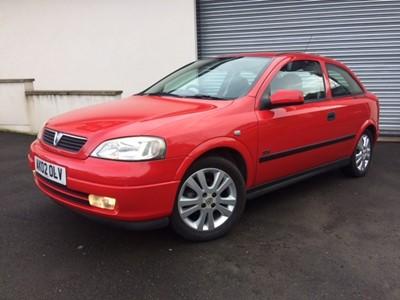 Lot 343 - 2002 Vauxhall Astra 1.6 SXi 16V