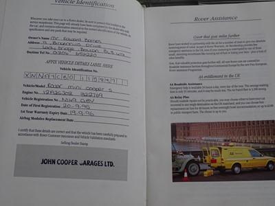 Lot 358 - 1995 Rover Mini Cooper 1.3 Si