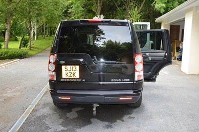Lot 368 - 2013 Land Rover Discovery 3.0 SDV6 HSE