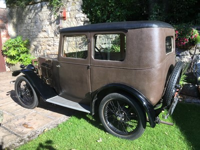 Lot 325 - 1929 Morris Minor Fabric Saloon