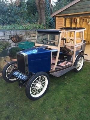 Lot 369 - 1929 Morris Minor Fabric Saloon