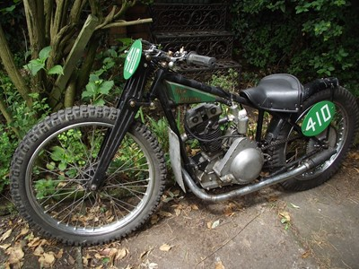 Lot 224-c.1936 New Imperial Dirt/Grasstrack Special 350cc