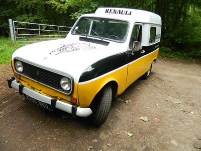 Lot 312 - 1983 Renault 4 Van