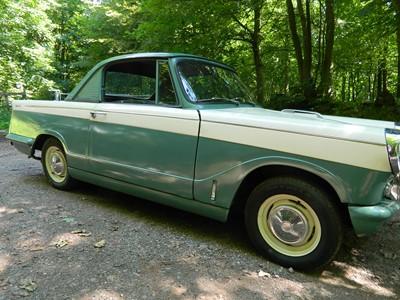 Lot 367 - 1961 Triumph Herald 1200 Coupe