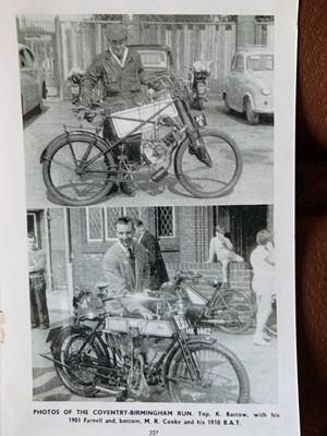 Lot 19 - 1910 BAT 500cc
