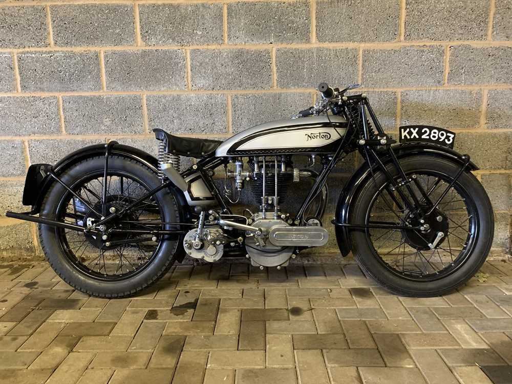 Lot -1929 Norton Model 18