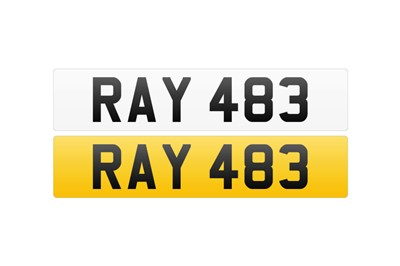 Lot 104-Registration Number - RAY 483