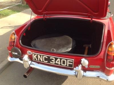 Lot 18-1968 MG C Roadster