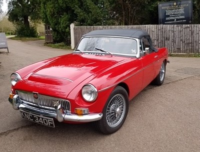 Lot -1968 MG C Roadster