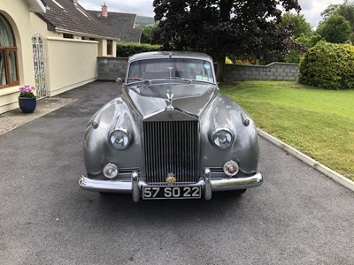 Lot -1957 Rolls-Royce Silver Cloud