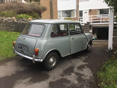 Lot -1966 Morris Mini 850 Super De-Luxe