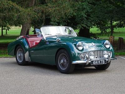 Lot -1959 Triumph TR3A
