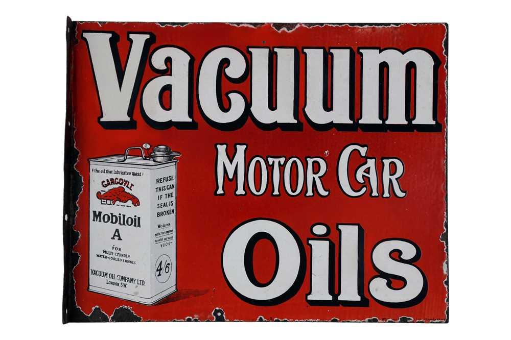 Lot 2-Mobiloil Vacuum Motor Car Oils