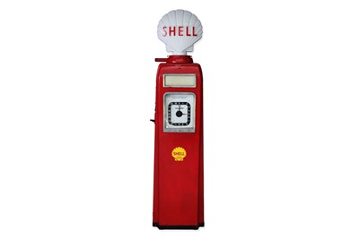Lot 49-An Avery Hardol Electric Petrol Pump, in Shell livery