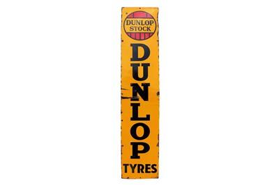 Lot 55-Dunlop Tyres Enamel Sign