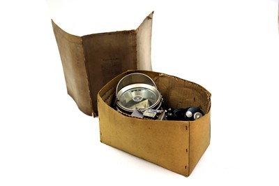 Lot 61-An Unrepeatable Boxed and New Old Stock Powell and Hanmer Boxed Acetylene Motorcycle Lighting Set