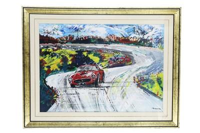 Lot 72-Francesco Scianna, 'Ferrari 250 SWB' Original Artwork