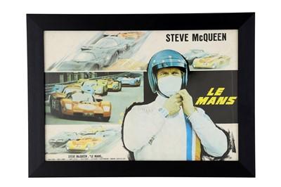Lot 73-A Rare Steve McQueen Lobby Card / Poster