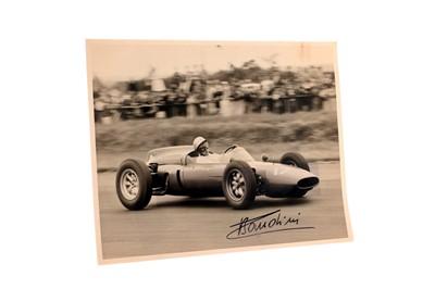 Lot 83-Lorenzo Bandini Signed Period Press Photograph