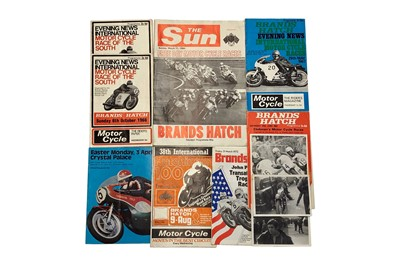 Lot 84-Two Mike Hailwood Signed Race Programmes