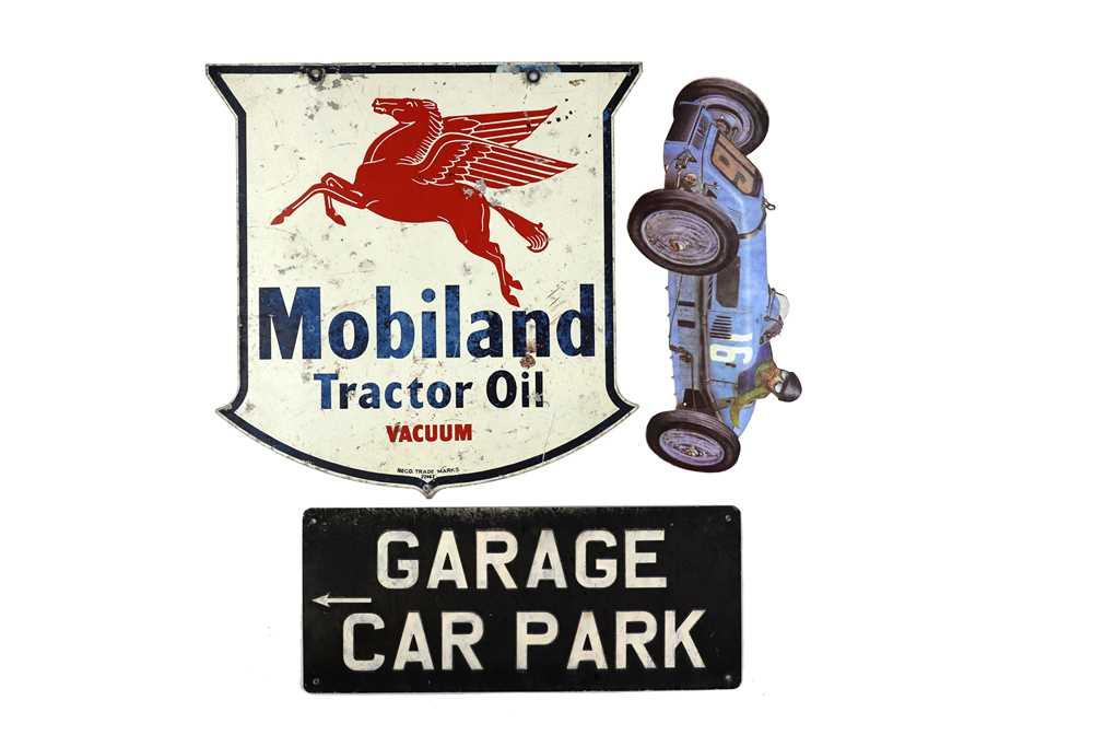 Lot 36-Three Garage Signs